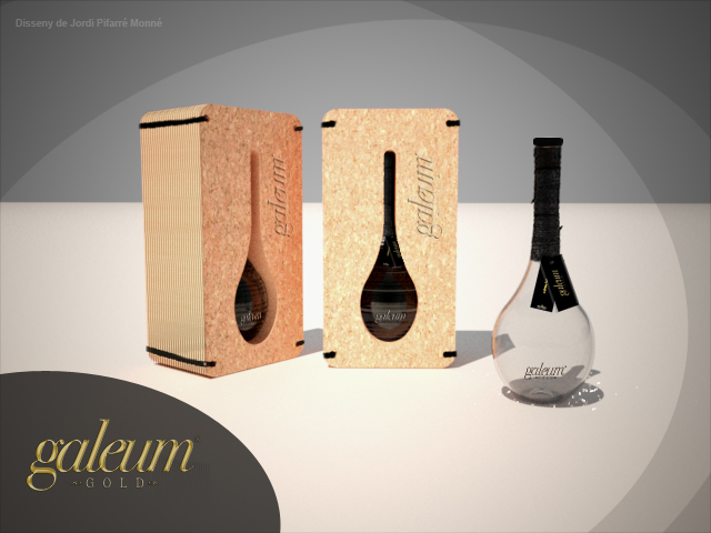 Packaging para producto exclusivo de Aceite de Oliva Vírgen Extra.