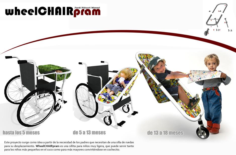 wheelCHAIRpram