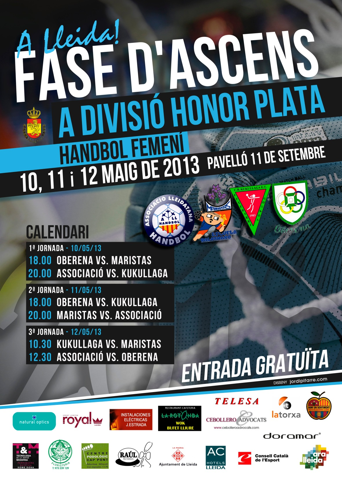 Cartel Fases Ascenso 2013